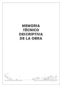 thumbnail of Memoria Técnico Descriptiva Plaza Luciana Peralta