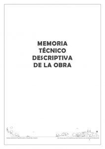 thumbnail of Memoria Técnico Descriptiva Plaza Nicolás Rivas