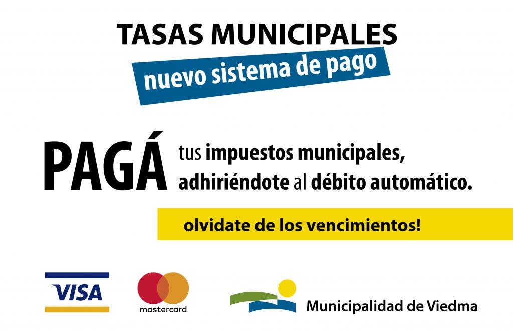 Pagá las tasas municipales adhiriéndote al débito automático